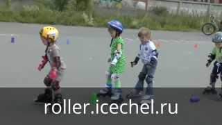 Обучение катанию на роликах детей от 3 лет