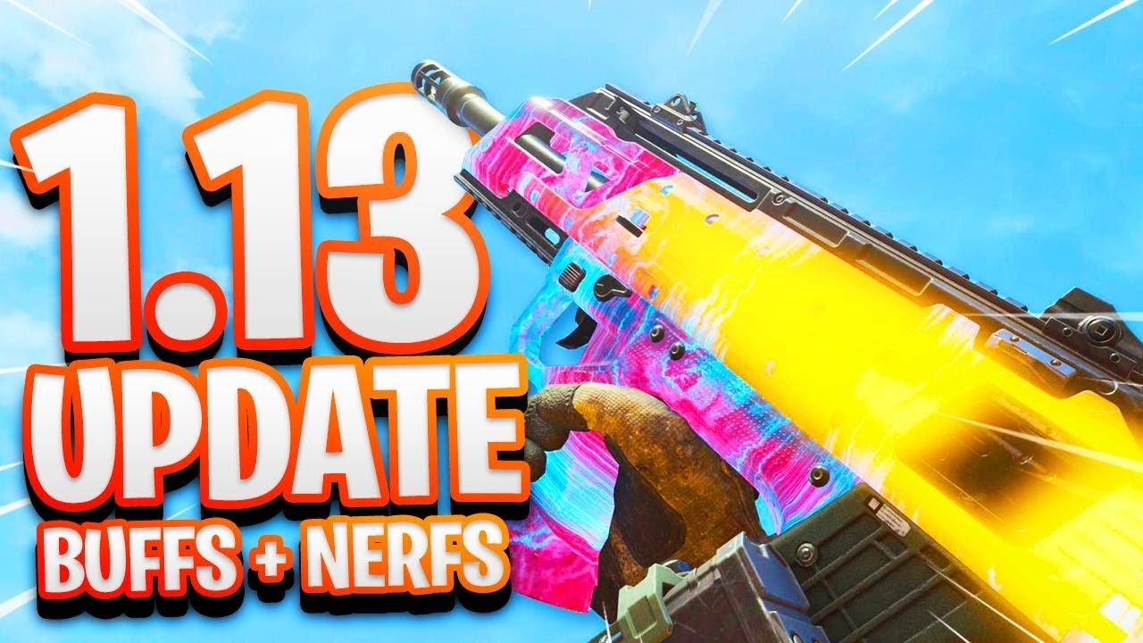 bo4 patch notes 1.13 weapons