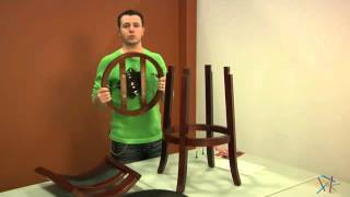 Assembly Video - Boraam 29-inch Augusta Swivel Bar Stool