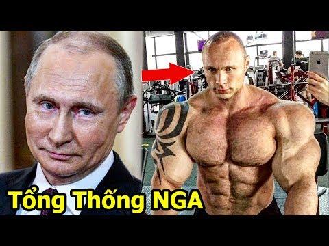 Khi Tổng Thống Nga PUTIN Tập Gym   Phiên Bản Quái Vật Của Tổng Thống Nikita Tkachuk