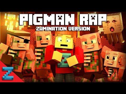 PIGMAN RAP | ZAMination Version (Minecraft Animation Music Video)Dan Bull
