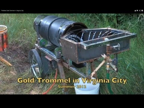 Reverse-Helix Gold Trommel In Virginia City
