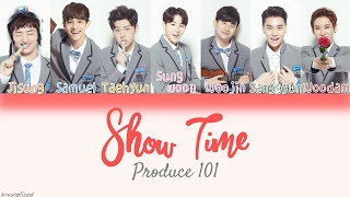 Video [Produce 101] It's - Show Time [HAN|ROM|ENG Color Coded Lyrics] download MP3, 3GP, MP4, WEBM, AVI, FLV Maret 2018