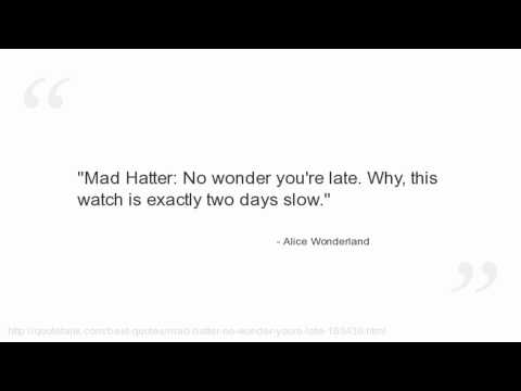 Alice Wonderland Quotes