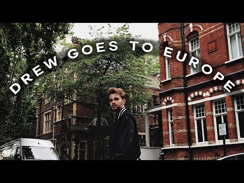 EUROPE TRAVEL VLOG // London, France, Monaco + Rome! ✈️ Imdrewscott