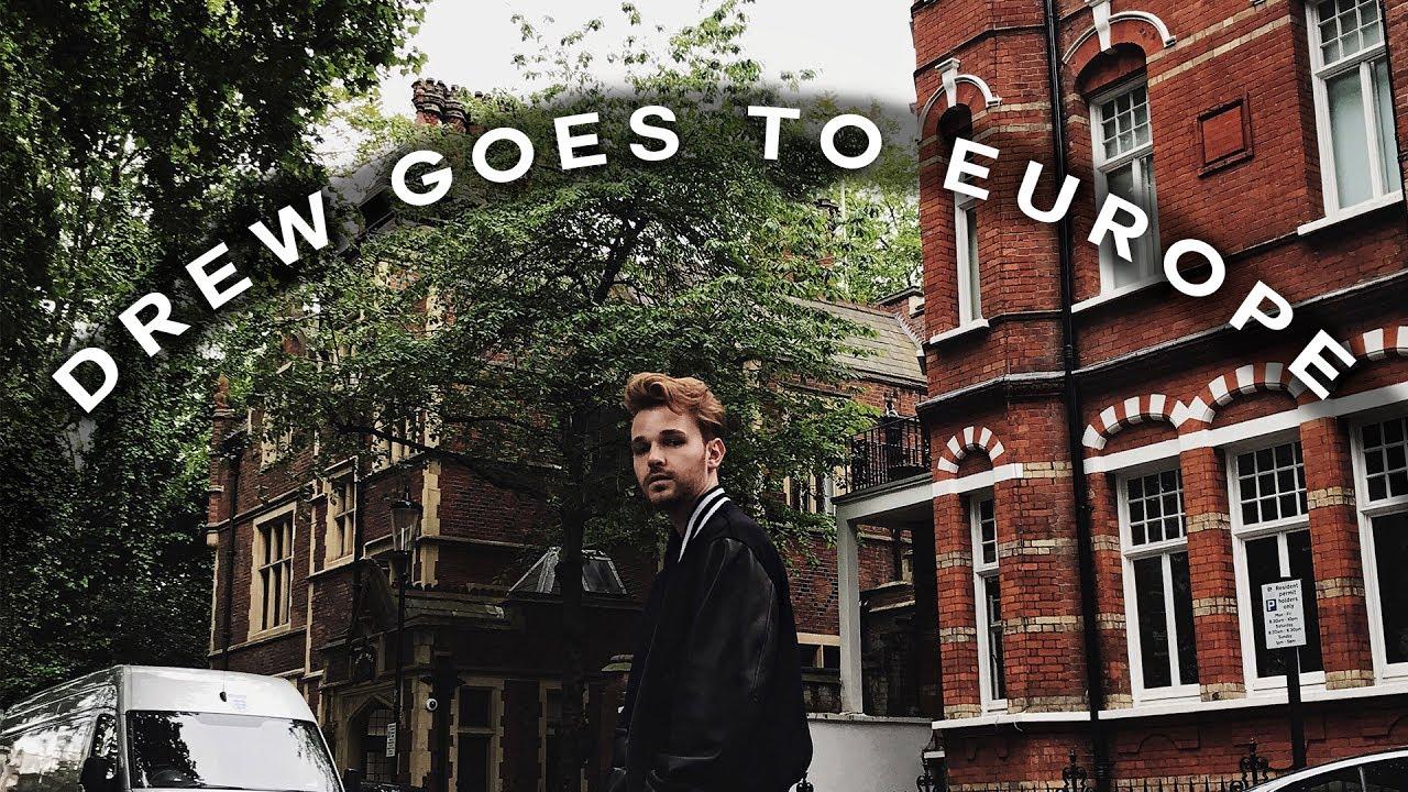 EUROPE TRAVEL VLOG // London, France, Monaco + Rome! ✈️ Imdrewscott