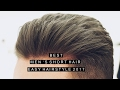Men's Short Hairstyle | Best New Hair | Low Fade | Easy Hairstyle 2017