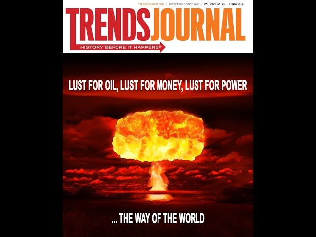 Welcome to the 12 Nov. Trends Journal