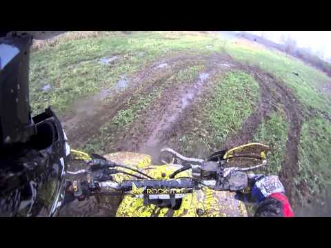 ATV Field Riding Onboard Helmet Cam Suzuki LTZ400