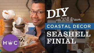 How To Make A Seashell Centerpiece