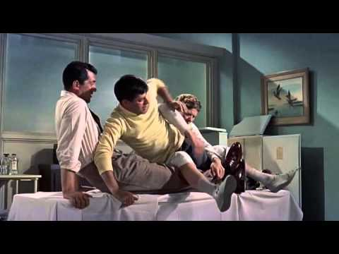 Artists And Models (1955) [with Jerry Lewis] [excerpt with knots]