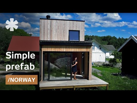 Norwegian wood: LEGO-assembling rural prefab cabin in 1 day