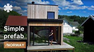 Norwegian wood: LEGO-assembling rural prefab cabin in 1 day
