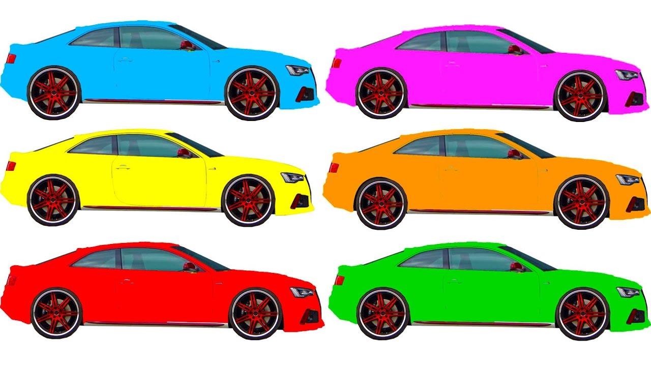 Картинки машин распечатать цветные