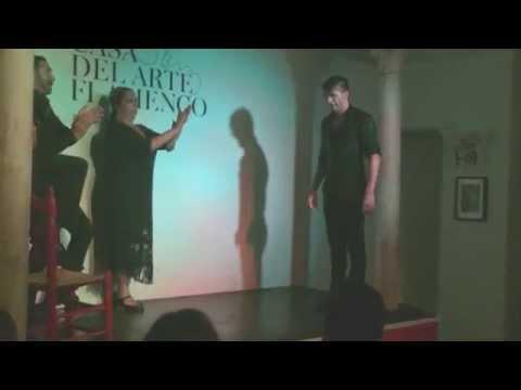 """Raquel Heredia """" La Repompa"""" y José Nuñez en CASA DEL ARTE FLAMENCO"""