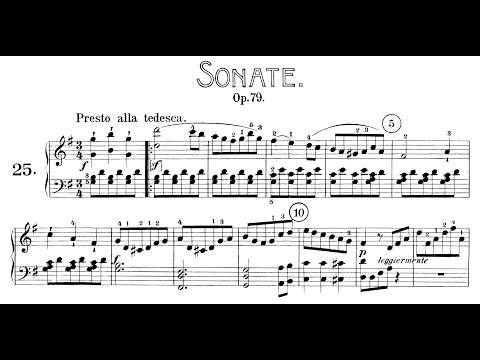 "Beethoven: Sonata No.25 in G Major, ""Cuckoo"" (Goode, Lewis, Kovacevich)"