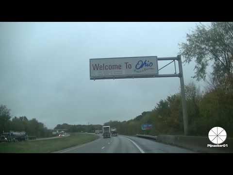 #OH #USAroadtrip #stateline Welcome to Ohio - Turpike Sign