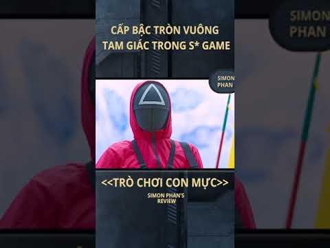 Simon Phan I Cấp bậc lính hường trong Squid Game #Shorts