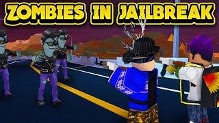 ZOMBIES ARE TAKING OVER JAILBREAK! (ROBLOX Jailbreak)