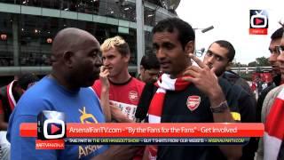Arsenal FC FanTalk -Fan wants Wenger out - Arsenal 1 Aston Villa 3