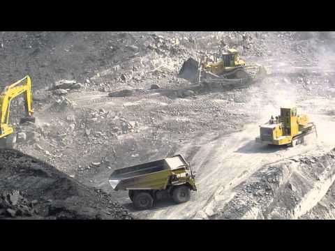 Cutting Rock and Mining Coal