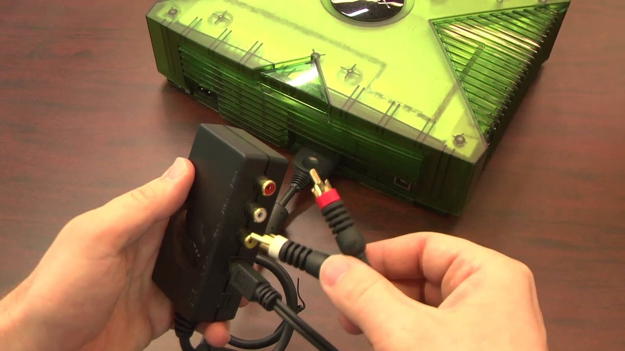 Classic Game Room - XBOX 1 ADVANCED AV PACK review - YouTube