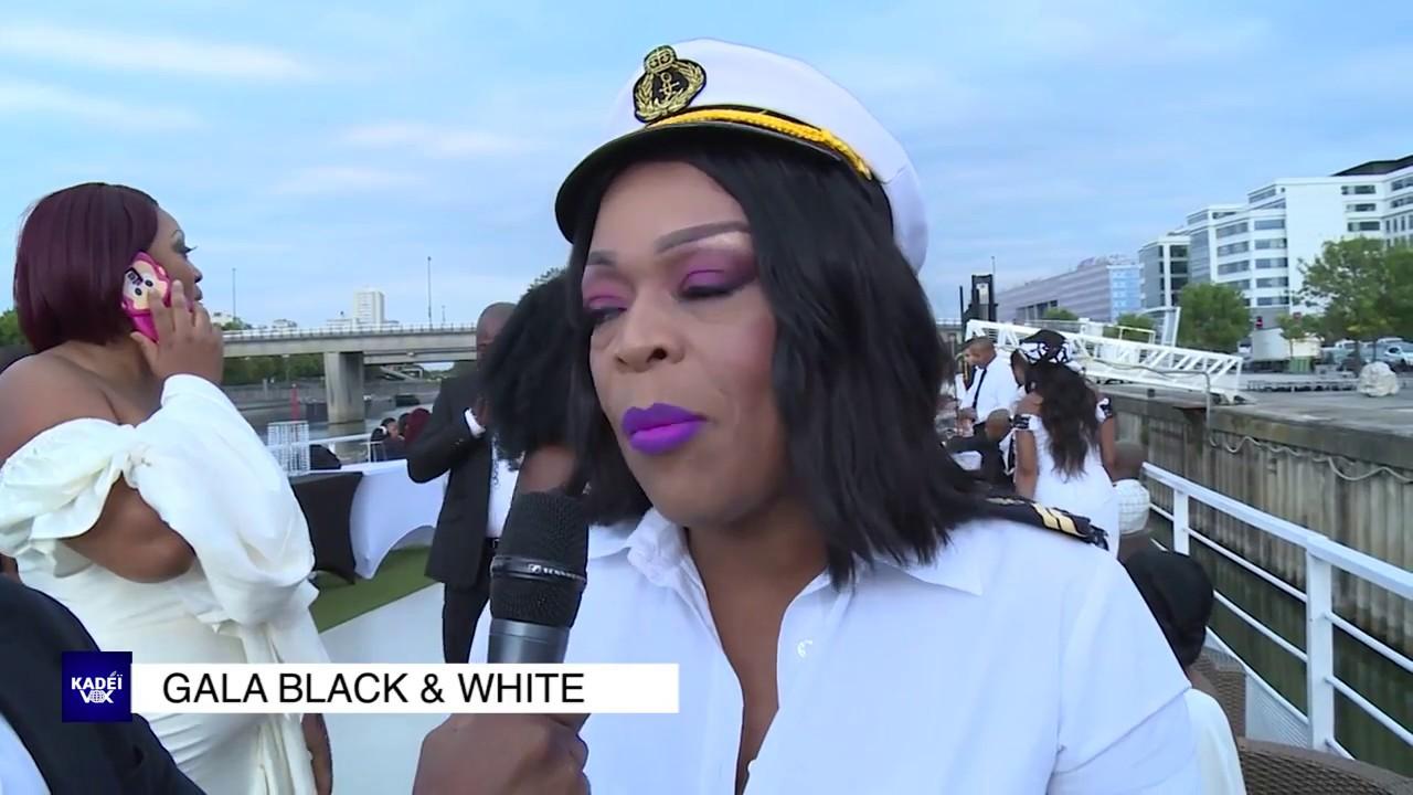 GALA BLACK &  WHITE 2e ÉDITION SUR CROISIÈRE VU PAR COCO