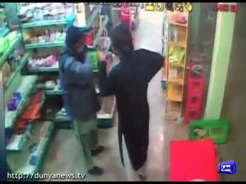 CCTV-Robery Fotage in Supper Store