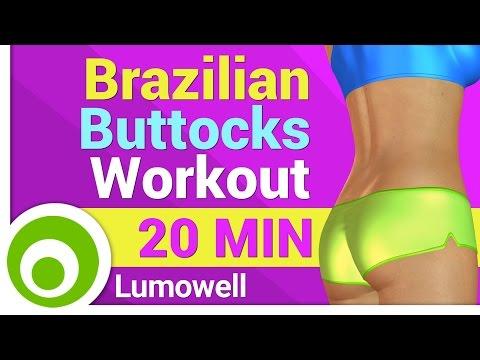 Brazilian Buttocks Workout - Perfect Butt Lift Exercises