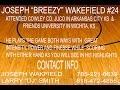 "BEST OF JOSEPH ""BREEZY"" WAKEFIELD V #24 HIGHLIGHTS FROM TOPEKA KS"