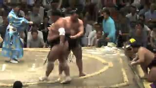 平成25年秋場所7日目 変化 sumo 大相撲.