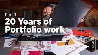 My First Portfolio – 20 YEARS of Art & Design – Part 1