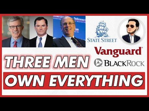 These Three Men Control Wallstreet (BlackRock, Vanguard, State Street)