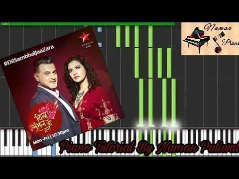 Jeene Bhi De Ishq Gunaah Dil Sambhal Ja Zara Yasser Desai Piano (Tutorial+MIDI+Music Sheet)