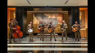 The Travelling Hands - Boutique London Roaming Band with Rosewood London
