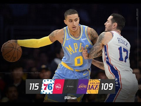 Lakers Drop a Close Game vs the 76ers.Live with DTLF