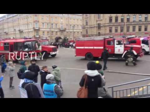 Russia: Explosion in St. Petersburg Metro kills at least 10
