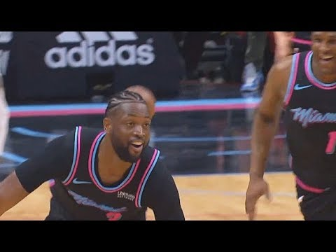Dwyane Wade Craziest Game Winner vs Warriors Shocks Entire Crowd! Warriors  vs Heat d93cfd1dbee