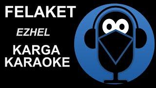 Ezhel - Zeynep Bastık - Felaket  / KARAOKE Sözleri lyrics (Cover) 2020 Resimi