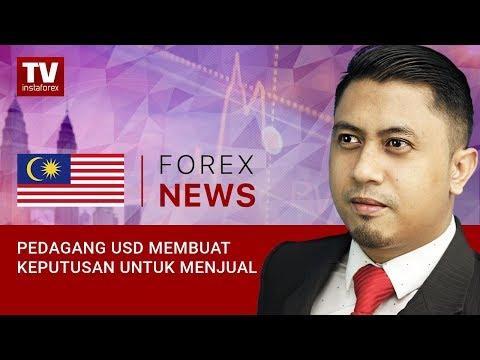 Pedagang USD Membuat Keputusan Untuk Menjual  (21.09.2018)