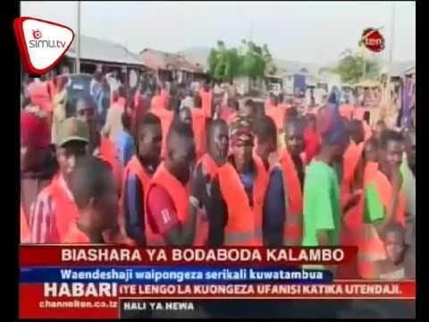 Waendesha Bodaboda Waipongeza Ofisi Ya Mkuu Wa Wilaya Kalambo