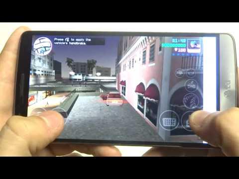 Grand Theft Auto Vice City LG G3 Gameplay - Fliptroniks.com