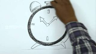 How to Draw a Alarm Clock
