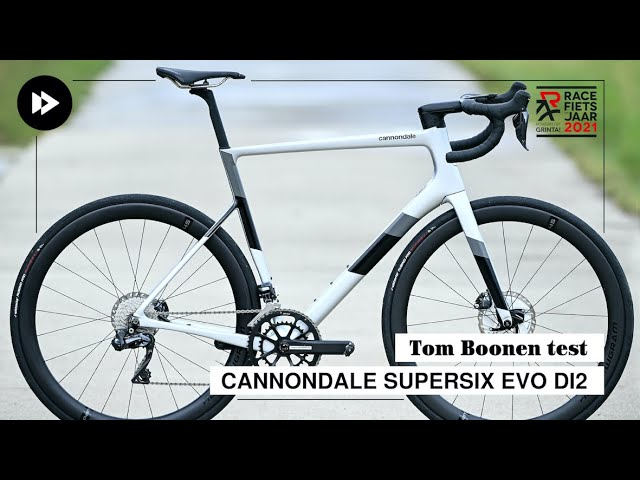 Tom Boonen test... Cannondale SuperSix Evo Di2