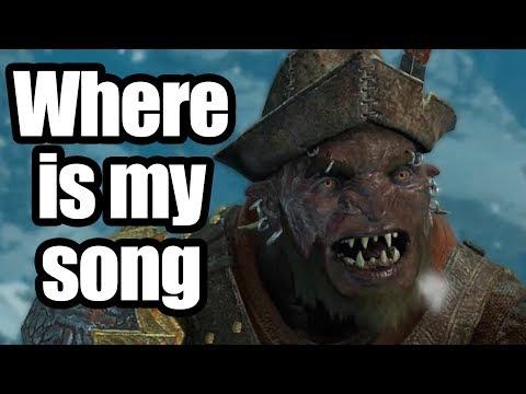 Shadow of War - Don't shame a singer