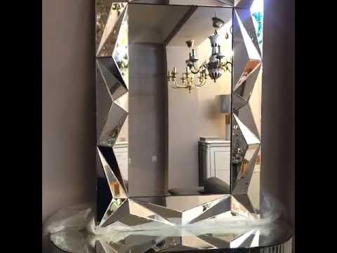 Зеркальная консоль