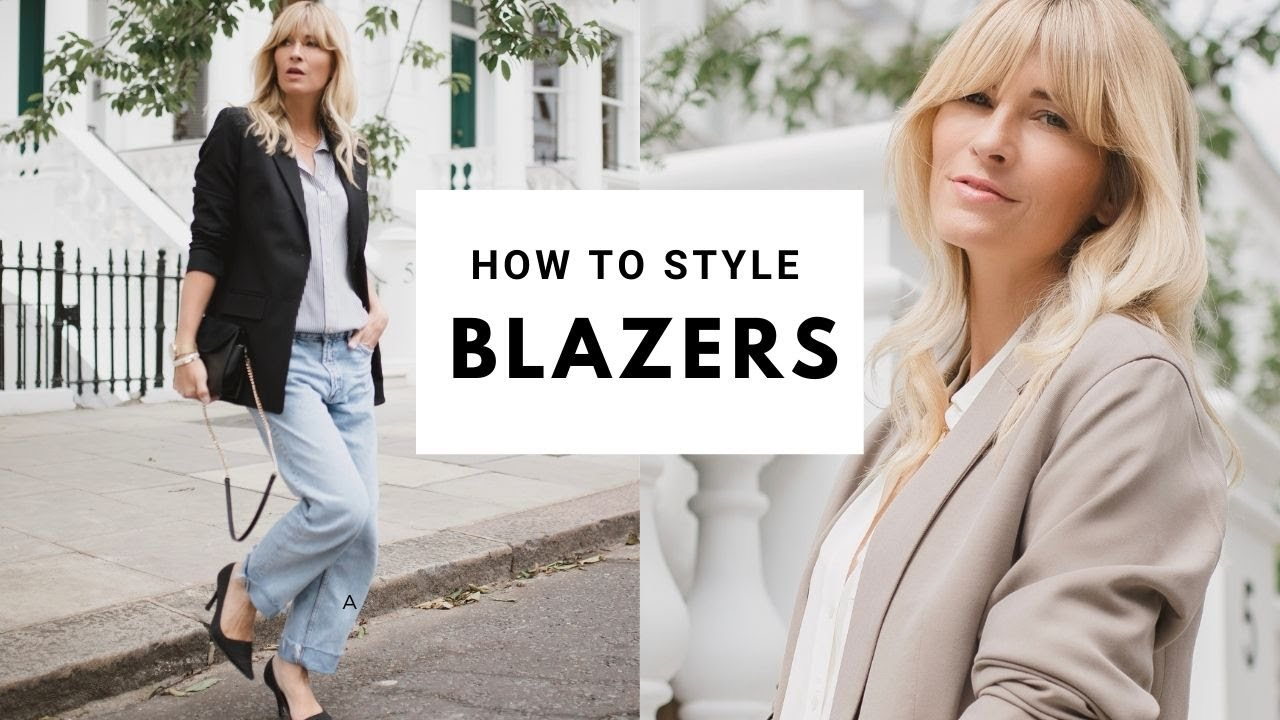 HOW TO STYLE A BLAZER | Styling blazers Autumn 2020