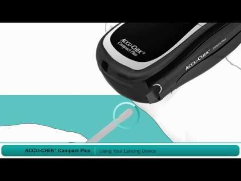 Hướng dẫn sử dụng kim lấy máu máy đo đường huyết ACCU-CHEK Compact Plus