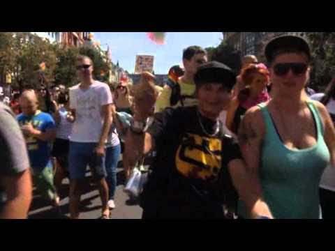 Raw Video: Gay Pride Celebration in Prague
