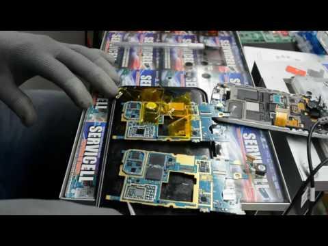 reparación Samsung Galaxy S4 mini Duos GT-i9192 no carga y se descarga rápido,  paciencia 1000%